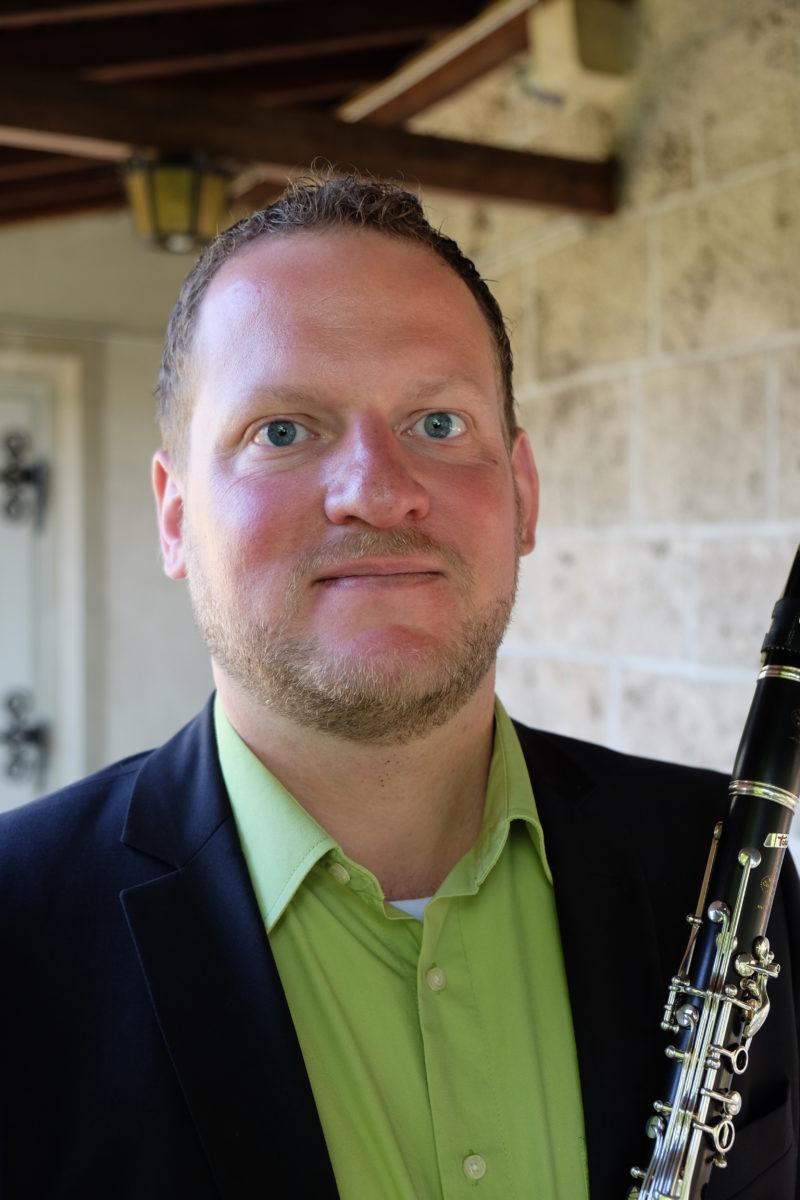 Michael Marending, clarinet